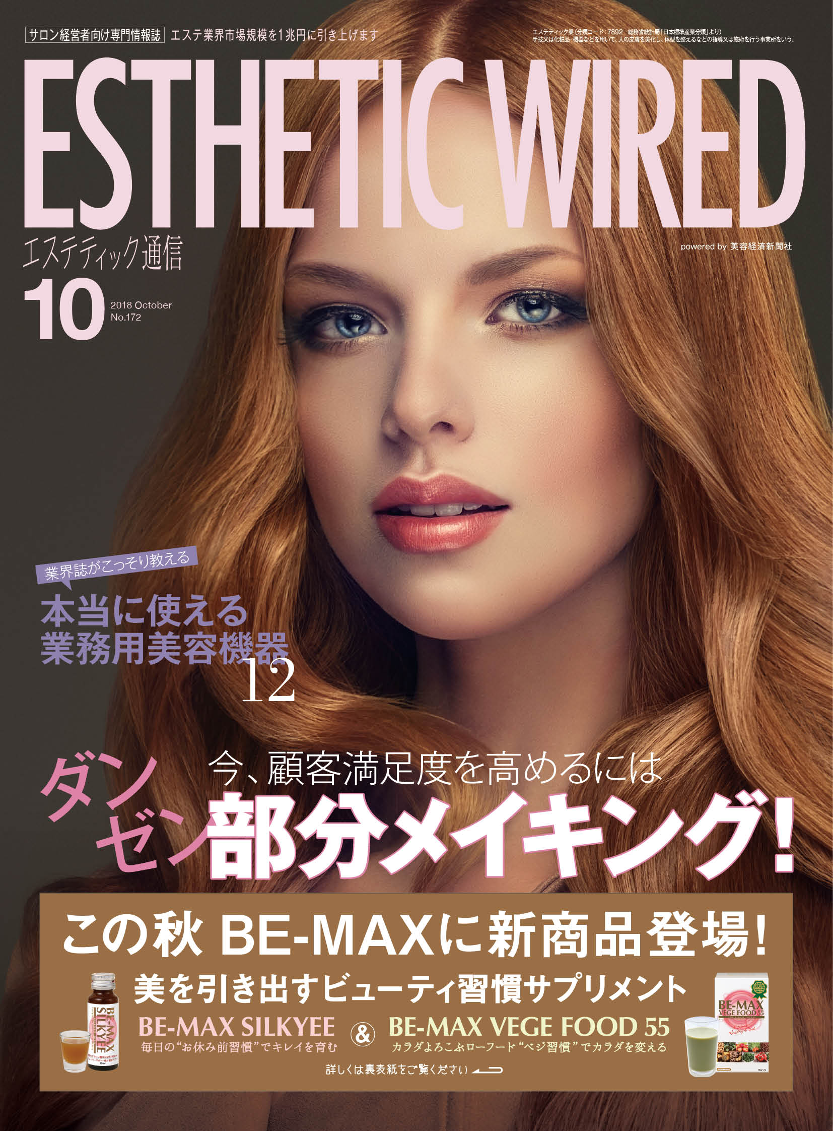 ESTHETIC WIRED 2018/10掲載